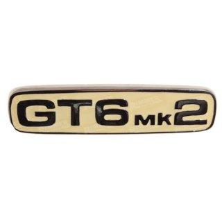 """Emblem hinten """"GT6MK2"""""""