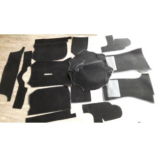 Teppichsatz standard schwarz 1500er