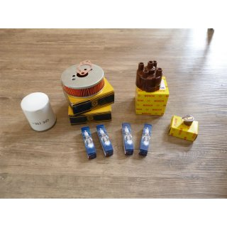 Servicekit 1500er, bestehend aus 2x Luftfilter Kappe / Finger, 4xWR8DC 1x GFE150