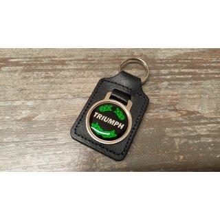 Schlüsselanhänger Triumph Laurel green