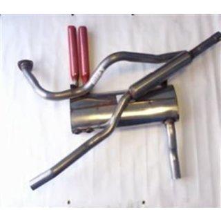 Auspuffanlage GT6 MK2-3 standard Edelstahl