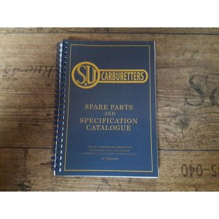 SU Buch Spare Parts and Specification Catalogue