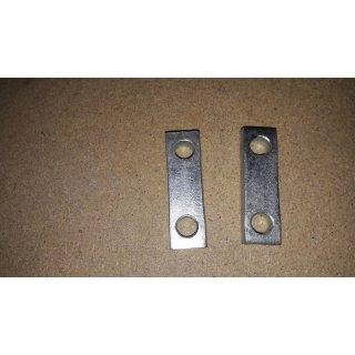 Paar Distanzstücke für Motorsilent an Rahmen GT6, aufgearbeitete Altteile