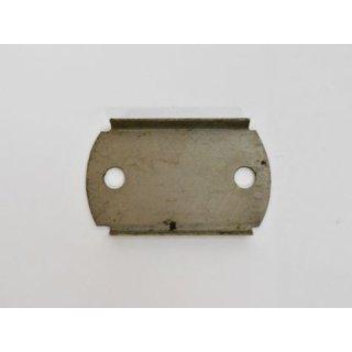 Gegenplatte für Halteschelle Haubengestänge, verzinkt