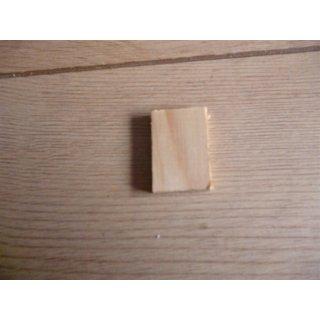 Holzstück Dichtblock vorne, Paar